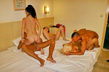 Wild vacation sex in Turkey: Day 6 - Swinging sex with best friends, part 2